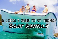 A Local's Guide to St. Thomas: Boat Rentals