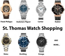 Buying Watches in St. Thomas - A Local's Guide