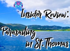 Insider Review: Parasailing in St Thomas
