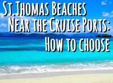 St Thomas Beaches Near Cruise Port : How to Choose