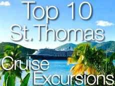 Top 10 St Thomas Cruise Excursions