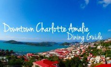 Downtown Charlotte Amalie: Dining Guide