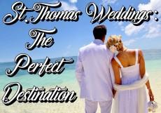St Thomas Weddings: The Perfect Destination