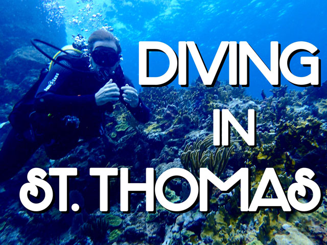 Diving in St Thomas