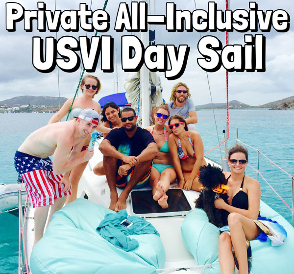 Private Sailing - One of the best excursions St Thomas has to offer