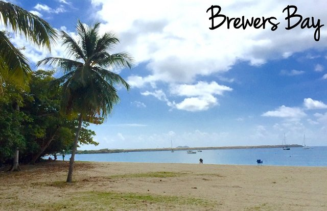 Find the best views of St. Thomas Cyril E. King airport from Brewers Beach.