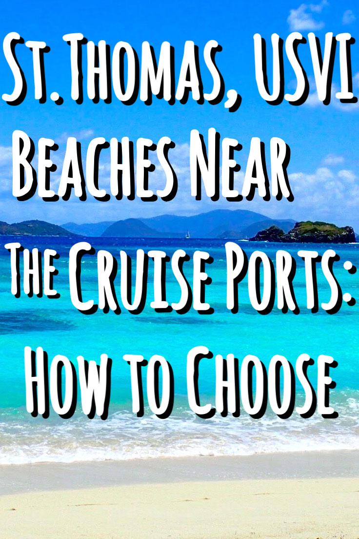St Thomas Beaches Near Cruise Port How To Choose