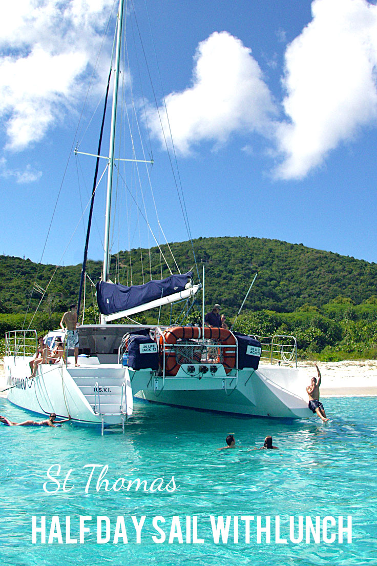 Half Day Sailing Tour to St. John with Lunch