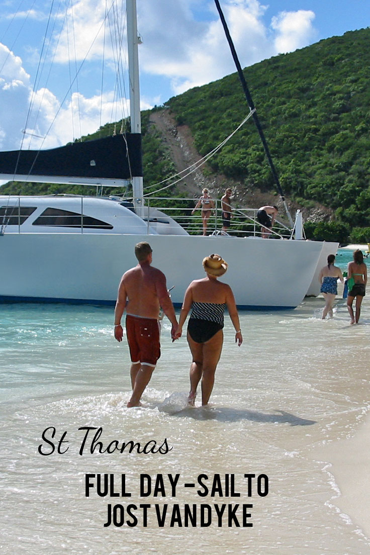Full Day Sailing Tours to Jost Van Dyke, BVI