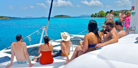 Full Day Sailing Tour to St. John