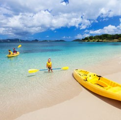 Honeymoon Beach St. John All-Day Watersports Package