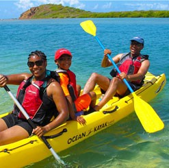 Ecotour and Lunch - St. Thomas Mangrove Lagoon and Cas Cay