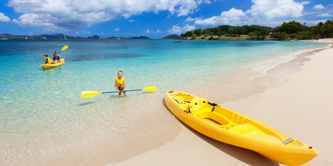 Honeymoon Beach All-Day Watersports Package