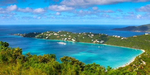 St. Thomas Private Sightseeing and Beach Excursion