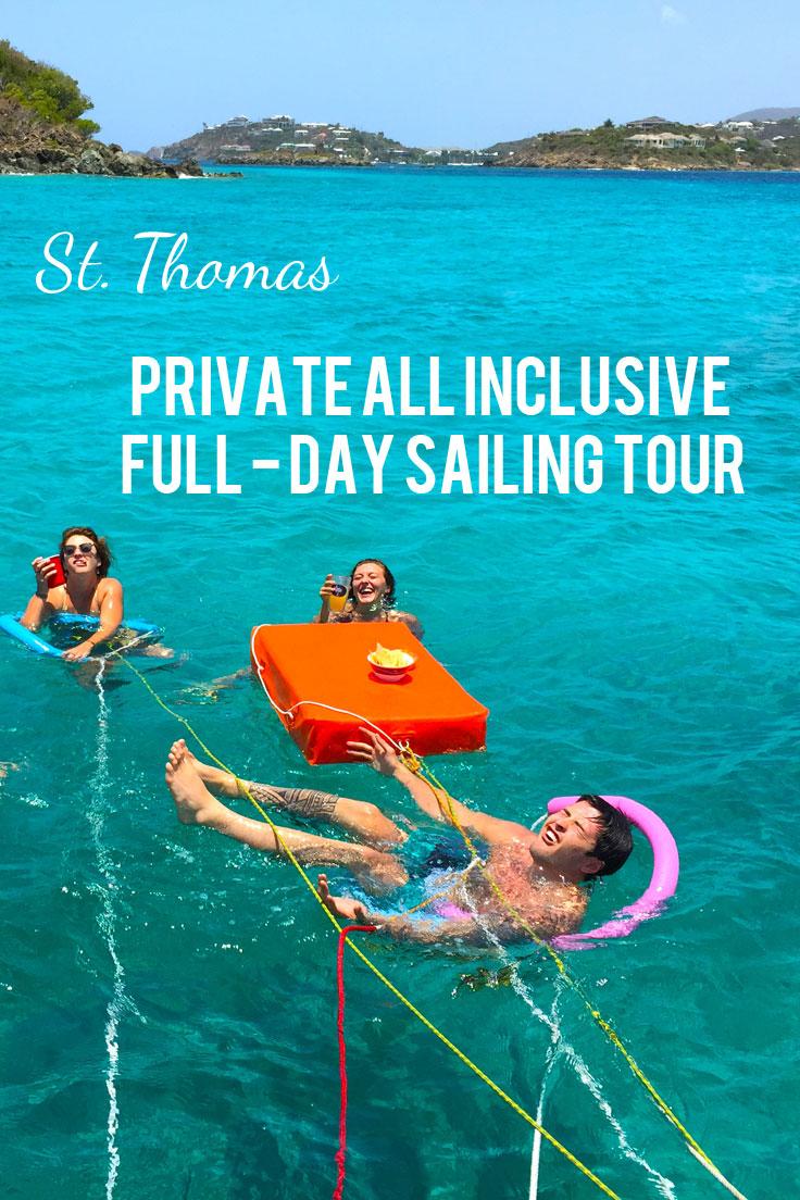 Private All-Inclusive Full Day Sail - U.S. Virgin Islands