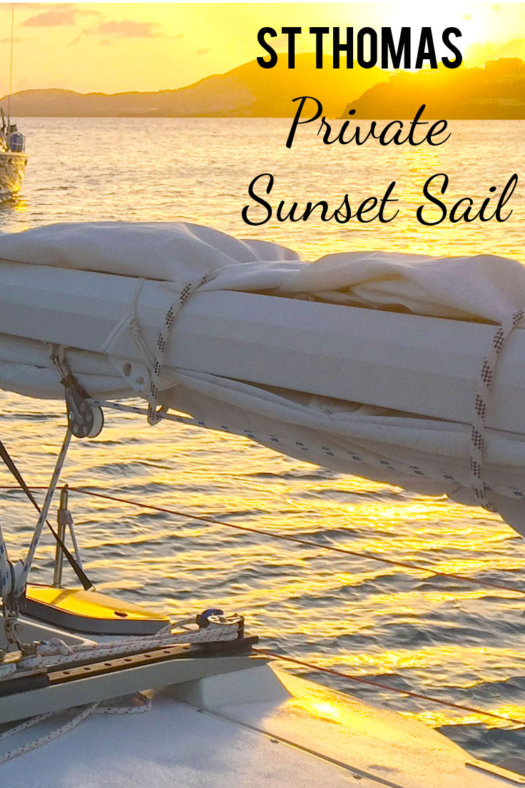 Private Sunset Sail in St. Thomas or St. John