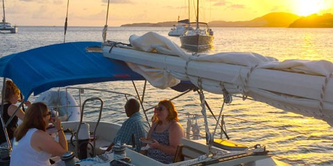 Private Sunset Sail in St Thomas