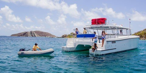 Large Group Power Catamaran Tour - USVI