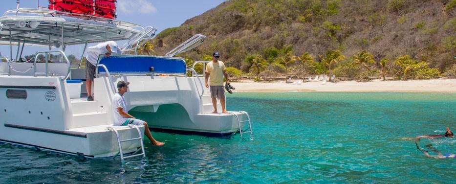 Large Group Power Catamaran Tour - USVI