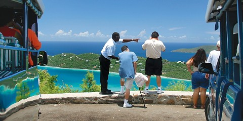 Sightseeing and Beach Tour in St. Thomas