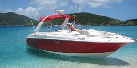 32ft Powerboat Full Day Charter  - Custom Itinerary