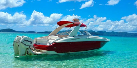 32ft Powerboat Adventures Half Day Charter - St. Thomas & St. John