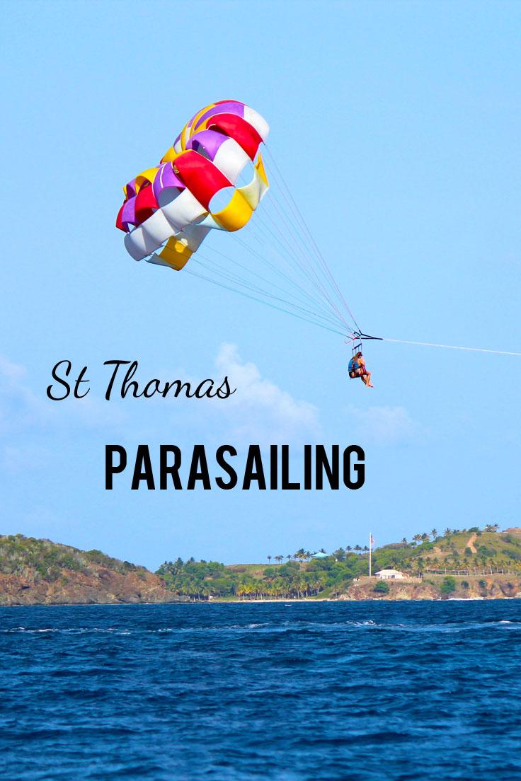 St Thomas Parasailing Excursion