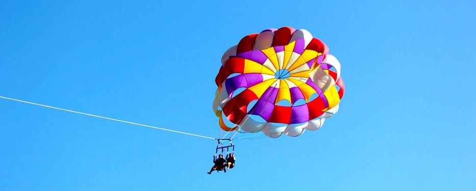 parasailing st thomas