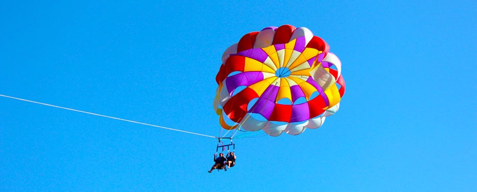 Parasailing in St Thomas - Havensight