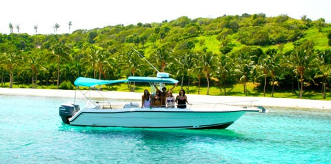 Full-Day Boat Rental in St Thomas