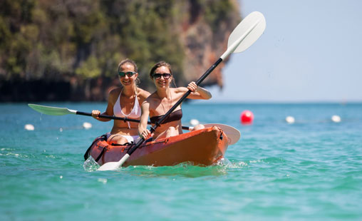 Take the opportunity to kayak St John with additional options to Hike and Snorkel